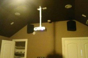 Photo #5: TV Mounting, Media Rooms, Home Theater - same day install!