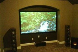 Photo #4: TV Mounting, Media Rooms, Home Theater - same day install!