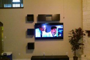 Photo #3: TV Mounting, Media Rooms, Home Theater - same day install!