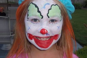 Photo #5: FACE PAINTER. FUNNY FACES OF INDY