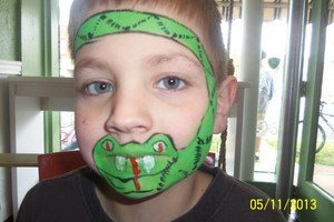 Photo #3: FACE PAINTER. FUNNY FACES OF INDY