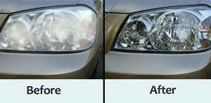 Photo #2: Professional Headlight Restoration. Get the best deal!