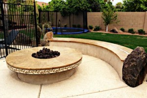 Photo #5: Amerstone Hardscaping Landscape Design - Pavers, Turf, Concrete, Fire Pits, Block