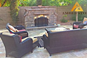 Photo #10: Amerstone Hardscaping Landscape Design - Pavers, Turf, Concrete, Fire Pits, Block