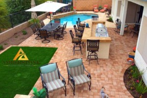Photo #12: Amerstone Hardscaping Landscape Design - Pavers, Turf, Concrete, Fire Pits, Block