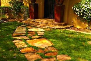 Photo #17: Amerstone Hardscaping Landscape Design - Pavers, Turf, Concrete, Fire Pits, Block