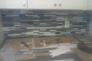 Photo #10: BACKSPLASH TILE SPECIALIZE IN GLASS MOSAIC & NATURAL STONE