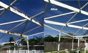 Photo #11: Titan Power Wash. Winter Deals! Brighten Your Soffits, Gutters & Pool Cage!