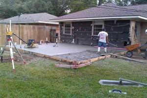 Photo #1: D.A CONCRETE - slabs, sidewalks, bulkhead and more! Call Domingo!