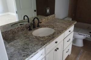 Photo #13: Diamond Cut Granite Co. GRANITE MARBLE & BATHROOM COUNTERTOPS. SHOWERS. BACKSPLASH. TILE.