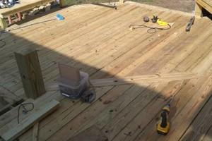 Photo #17: All remodeling / custom decks and doors