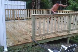 Photo #13: All remodeling / custom decks and doors