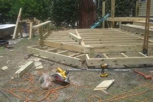 Photo #7: All remodeling / custom decks and doors