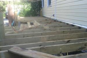 Photo #6: All remodeling / custom decks and doors