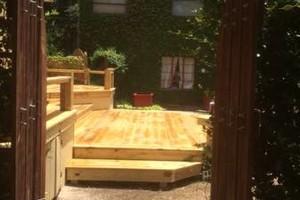 Photo #4: All remodeling / custom decks and doors