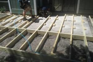 Photo #3: All remodeling / custom decks and doors