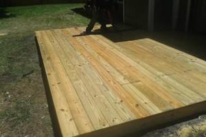 Photo #2: All remodeling / custom decks and doors