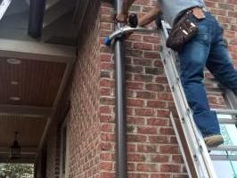 Photo #23: Clogged Gutters? Seamless Gutters & Gutterglove - NO CLOG Guards