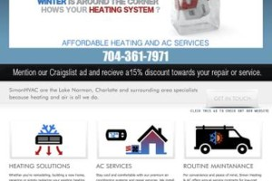 Photo #1: Heating and cooling service and repair, one call takes care of it...