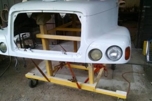 Photo #1: FIBERGLASS TRUCK HOOD REPAIR & PAINT