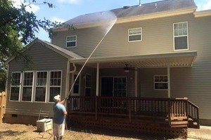 Photo #1: Affordable pressure washing of your home