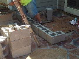 Photo #1: Masonry repair from Jim