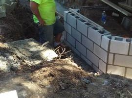 Photo #2: Masonry repair from Jim
