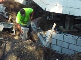 Photo #3: Masonry repair from Jim