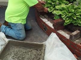 Photo #4: Masonry repair from Jim
