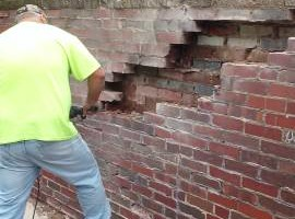 Photo #5: Masonry repair from Jim