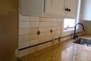 Photo #5: CUSTOM TILE installation - MARBLE/GRANITE/ TRAVERTINE/ PORCELAN /CERAMIC