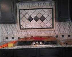 Photo #9: CUSTOM TILE installation - MARBLE/GRANITE/ TRAVERTINE/ PORCELAN /CERAMIC