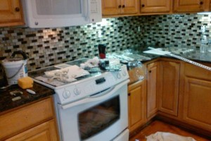 Photo #23: CUSTOM TILE installation - MARBLE/GRANITE/ TRAVERTINE/ PORCELAN /CERAMIC