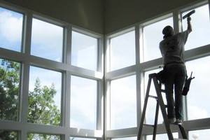 Photo #1: PROFESSIONAL WINDOW WASHING by: Superior window cleaning and blinds