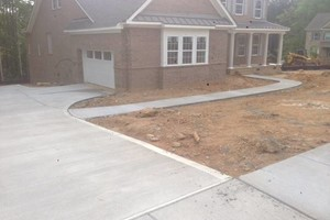 Photo #4: CONCRETE WORK.  References available for commercial & residential work.