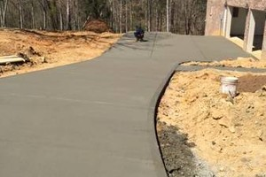 Photo #2: CONCRETE WORK.  References available for commercial & residential work.