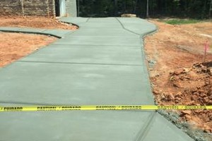 Photo #1: CONCRETE WORK.  References available for commercial & residential work.