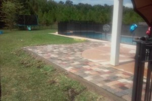 Photo #16: NORTH FLORIDA PAVERS, CONCRETE & CURBING