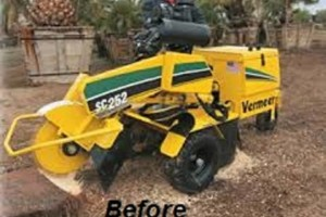 Photo #2: Denton's STUMP GRINDING AND REMOVAL