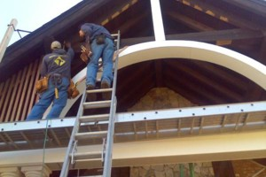 Photo #13: A Precision Builder - roofing, framing, sheetrock work, floors
