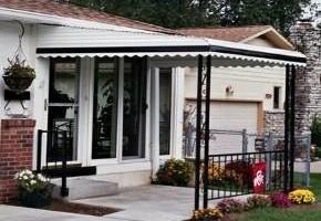 Photo #9: Aluminum awnings & carports. Style Rite Awnings