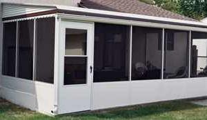 Photo #1: Aluminum awnings & carports. Style Rite Awnings