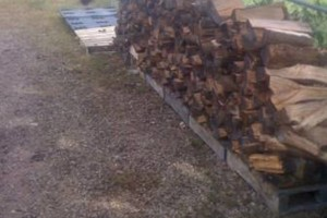 Photo #3: Fire wood sale - seasoned good and dry for fast burning - $80.00 for a f150 load!