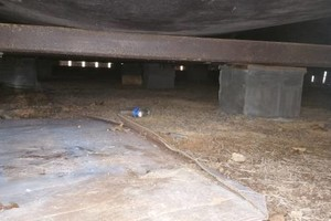 Photo #2: Crawlspace make over