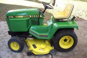 Photo #8: Refurbishment Services for Vintage John Deere Lawn & Garden Tractors