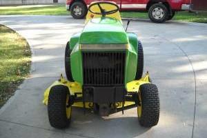 Photo #3: Refurbishment Services for Vintage John Deere Lawn & Garden Tractors
