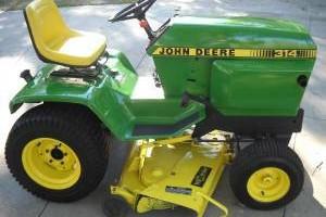 Photo #2: Refurbishment Services for Vintage John Deere Lawn & Garden Tractors