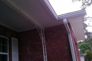 Photo #6: SEAMLESS GUTTERS, SOFFIT, SCREENROOM
