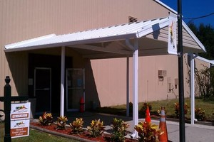 Photo #1: SEAMLESS GUTTERS, SOFFIT, SCREENROOM