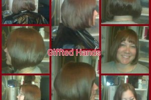 Photo #8: All Color Cut Style at Your Home. Giffted Hands